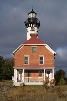 Free Au Sable Point Lighthouse Stock Photos - 9382843