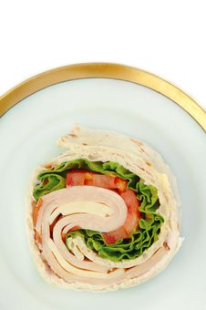 Free Turkey Wrap Stock Photo - 9383530