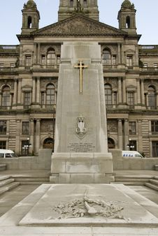 Memorial Glasgow Royalty Free Stock Photo
