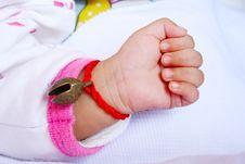 Free Baby Hand Stock Image - 9383971