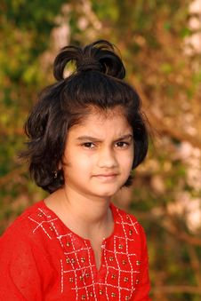 Free Small Indian Girl Stock Photos - 9384403