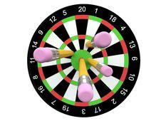 Free Darts Royalty Free Stock Photos - 9384878