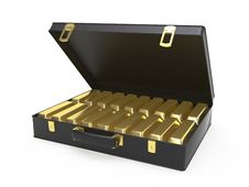 Free Case With Gold Stock Photos - 9384883