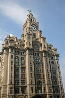 Free Liver Building, Liverpool Royalty Free Stock Images - 9384909