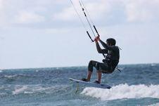 Free Kitesurfer Royalty Free Stock Images - 9384969