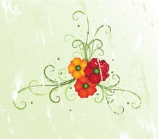 Free Summer Floral Design Royalty Free Stock Images - 9384979