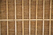 Free Straw Roof Pattern Background Royalty Free Stock Image - 9385336