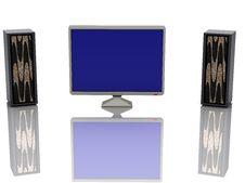 Free Television Set Stock Image - 9385611