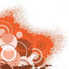 Free Stylish Orange Banner Royalty Free Stock Photo - 9385765