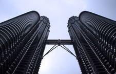 Petronas Towers Kuala Lumpur Stock Photos