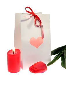 Free Valentine S Day Gift Stock Photography - 9386412