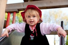 Free Child Playground Outdoor Girl Royalty Free Stock Photo - 9386605