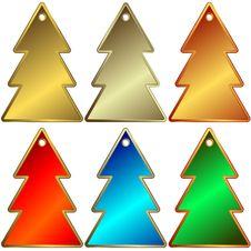 Free Set Of Metallic A Charms Stock Photos - 9388883