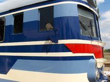Locomotive On Railway Station Royalty Free Stock Photos