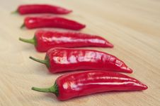 Free Red Chili Peppers Stock Photos - 9389233