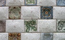Free Ceramic Mosaic Royalty Free Stock Photo - 9389795
