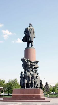 Free Lenin Monument Stock Photo - 9389960