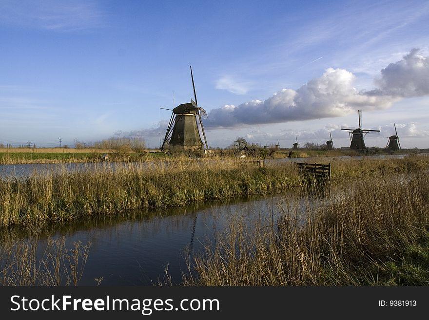 Windmill of Kinderdijk