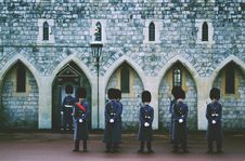 Free Soldiers Standing Guard Stock Photo - 93866750