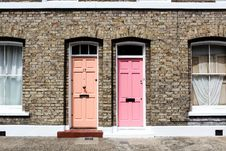 Free Colourful Doors Royalty Free Stock Images - 93866789