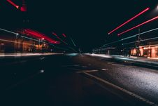 Free Light Trails On A City Street Stock Photography - 93866842