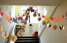 Free Easter Decorations At School Royalty Free Stock Image - 93866966