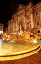 Free The Trevi Fountain At Night Stock Photo - 9394520