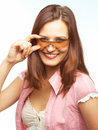 Free Woman In Sunglasses Royalty Free Stock Photo - 9398565