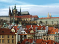 Free Prague Gothic Castle On The River Vltava Royalty Free Stock Image - 9399826
