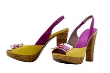 Free Womanish Shoes Royalty Free Stock Photos - 9390418