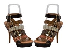Free Womanish Shoes Royalty Free Stock Images - 9390469