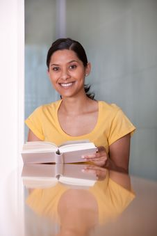 Portrait Of Female Student Stock Photography
