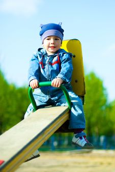 Free Cute Boy Outdoor Stock Photo - 9390660
