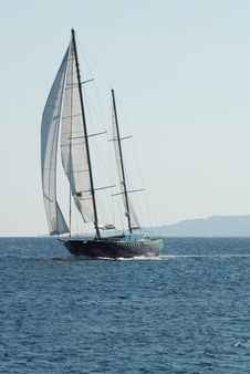 Free Sailing Boat Royalty Free Stock Photo - 9390665