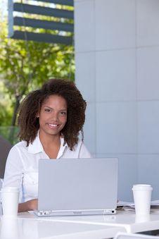 Female Student Portrait Stock Photo