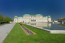 Free Belveder Palace Royalty Free Stock Images - 9390699