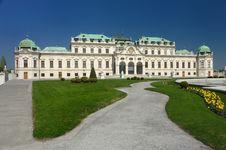 Free Belveder Palace Stock Photos - 9390743