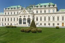 Free Belveder Palace Royalty Free Stock Photos - 9390778