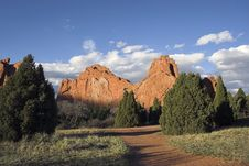 Free Garden Of The Gods Royalty Free Stock Images - 9390899