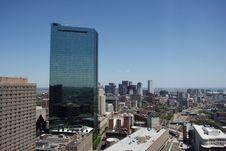 Boston Downtown Royalty Free Stock Photos