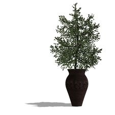 Free 3d Render Of A Planted Tree Stock Image - 9391791