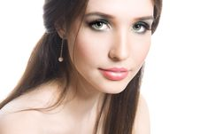 Free Beautiful Young Brunette Stock Photography - 9391912