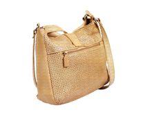 Free Tan Leather Handbag On White Background Stock Photography - 9392412