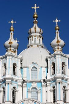 Free Smolny Cathedral Royalty Free Stock Image - 9393616