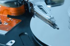 Free Hard Disk Drive Macro Stock Photography - 9394252