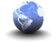Free Abstract Earth Globe Royalty Free Stock Photos - 9394298