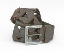 Free Leather Belt Royalty Free Stock Photo - 9395265