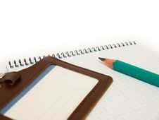 Free Pencil & Paper Royalty Free Stock Photos - 9395858