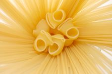 Free Detail Of Macaroni Pasta Useful As A Background Royalty Free Stock Photo - 9396035