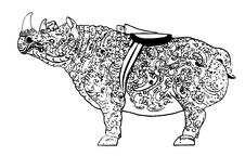 Free Rhino Royalty Free Stock Photography - 9396347
